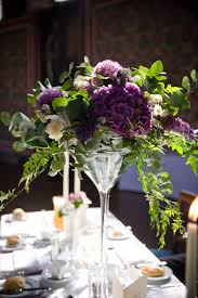 martini lavender martini glass table decoration your london florist weddings