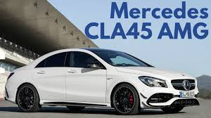 mercedes 45 amg white 2017 mercedes cla45 amg 4matic interior and exterior