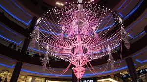 Chandelier Dubai Dubai Festival Of Lights Middleeastmasala