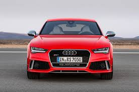 audi rs7 front audi rs7 facelift revealed for europe automobile magazine
