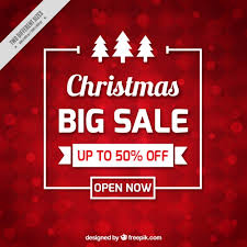 christmas sale christmas sale background vector free