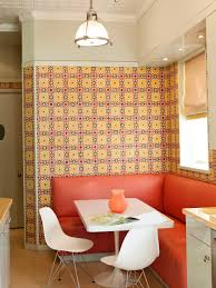 modern kitchen banquette dining in comfort with kitchen banquettes