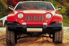 jeep sports car concept rugged and unique 1998 jeep jeepster concept