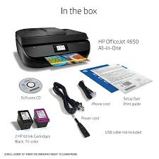 amazon com hp officejet 4650 wireless all in one photo printer