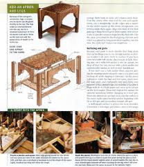Woodworking Making Table Legs by Making End Grain Table Top U2022 Woodarchivist