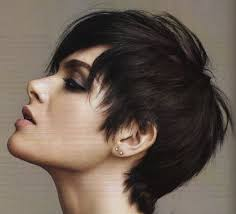 side and front view short pixie haircuts the best cuts to disguise thinning roots pixie cut pixies and