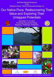 native plant symposium and plant philippine native plants conservation society inc second
