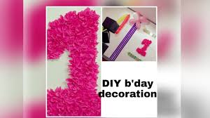 birthday decorations at home 2017 diy decor for 1st birthday