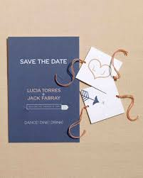 wedding save the date cards 30 diy save the dates to kick your wedding martha stewart