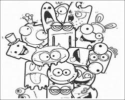 photo collection cute graffiti characters drawing