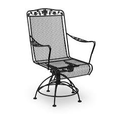 Swivel Patio Dining Chairs Meadowcraft Dogwood Swivel Patio Dining Chair Reviews Wayfair