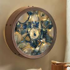 lighted pictures wall decor wind weather agate lighted wall décor reviews wayfair