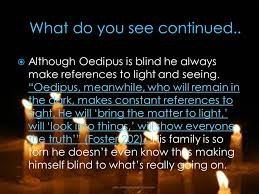 What Is Blind Sight In The Passage U201che U0027s Blind For A Reason You Know U201d The Author Is