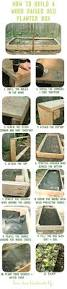 how to build a wooden raised bed planter box dear handmade life