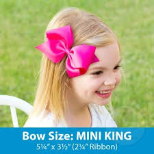 wee ones hair bows wee ones wee ones mini king classic grosgrain hair bow size 5 25