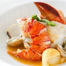 homard cuisine recette filets de turbot sauce homard