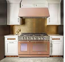 rose gold or copper kitchen appliances dreamy home decor