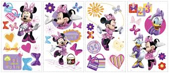 rmk scs minnie mouse bow tique wall stickers minnie mouse bow tique wall stickers