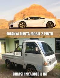 Meme Mobil - berdoalah yang akurat jpg