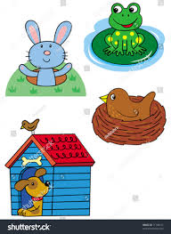 free clip art animal homes u2013 clipart free download