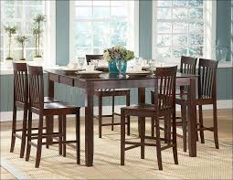 Kitchen  Black Dining Room Set Counter Height Dining Room Sets - Counter height kitchen table and chair sets