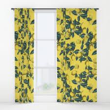 Leaf Pattern Curtains Window Curtains U2013 Society6 Curated