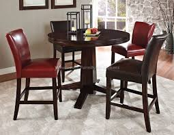 High Table Chairs 6 Stools And Counter Table Open 5 Piece Counter Height Dining