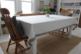 dining room table cloth what i made using an ikea table cloth misdiy