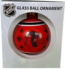 chicago blackhawks ornament the clubhouse