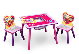 Levels Of Discovery Princess Vanity Table And Chair Set Delta Children Nick Jr Paw Patrol Skye And Everest 3 Piece Table