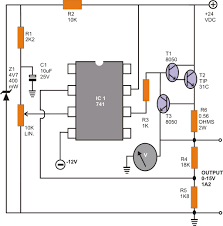 circuit diagram of home theater make these simple ic 741 opamp circuit design projects diagram