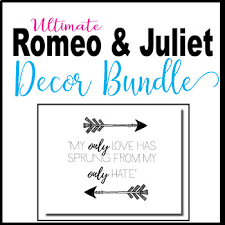 romeo and juliet decoration bundle by tpt