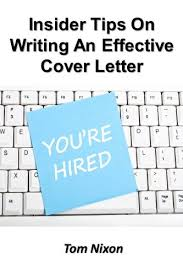 amazon com insider tips on writing an effective cover letter