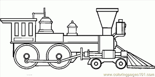 free printable train coloring pages kids elegant