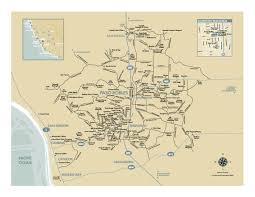 paso robles winery map paso robles wine country map paso robles california mappery