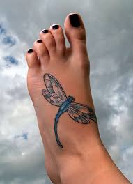 46 dainty dragonfly tattoos and designs