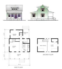 small vacation home floor plans the cottage model 697