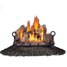 natural gas ventless gas fireplace logs gas logs the home depot