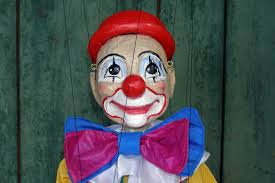 clown puppets for sale marionettes puppets for sale original handmade clown wood carved