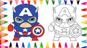 bad baby captain america coloring pages for kids baby coloring