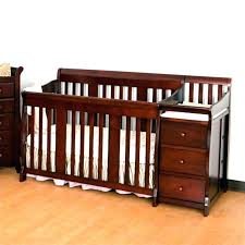 black crib with changing table baby crib with changing table ostrichapp com