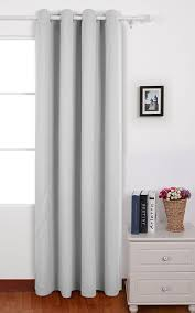 White Bedroom Curtains 63 Inches Deconovo Room Darkening Insulated Thermal Blackout Curtain For
