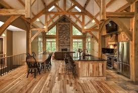 For Wood Lovers Log Timberframe And PostandBeam Houses - Post beam home designs