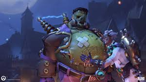 reaper background overwatch halloween junkrat heroes overwatch
