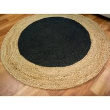 Black Round Area Rugs by Inspirational Design Round Sisal Rug Remarkable Ideas Outdoor