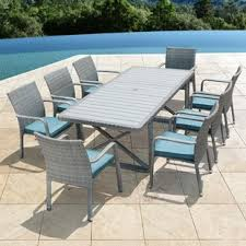 Patio Dining Set With Bench Patio Dining Sets Joss