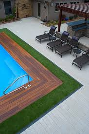 Maintenance Free Backyard Ideas 13 Best Pool Side Artificial Grass Images On Pinterest Grasses