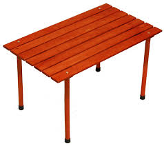amazon com table in a bag llw1527 small low wood portable table