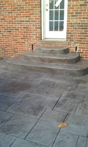 Cost Of Pavers Patio by Stone Texture Concrete Pavers Cost Inside Of Stamped Patio Renate