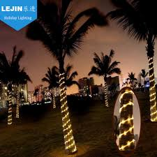 outdoor led rope light palm tree decoration buy led rope light